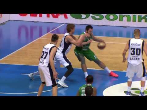 ABA Liga 2016/17, Round 26 match: Zadar - Union Olimpija (12.3.2017)