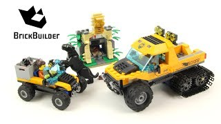 Lego City 60159 Jungle Halftrack Mission - Lego Speed Build