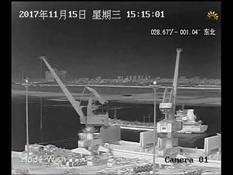 marine surveillance long range PTZ infrared uncooled thermal camera