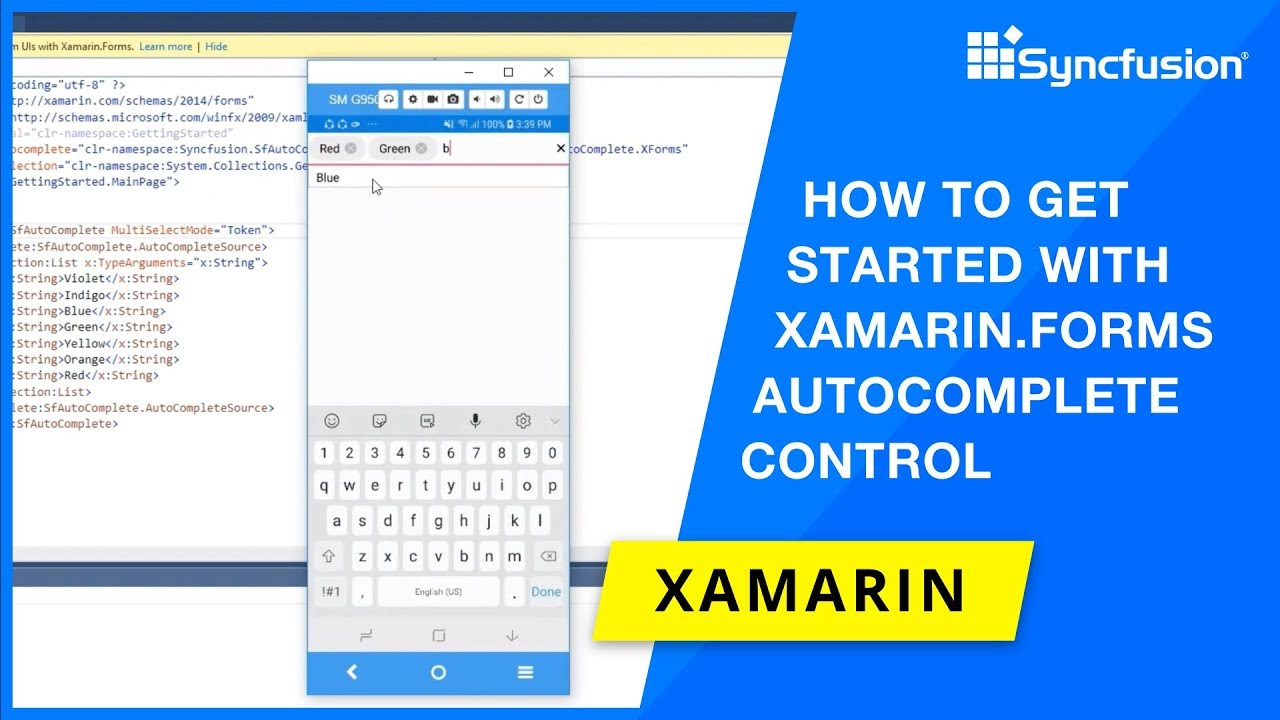 How to Get Started with Xamarin Forms Autocomplete Control