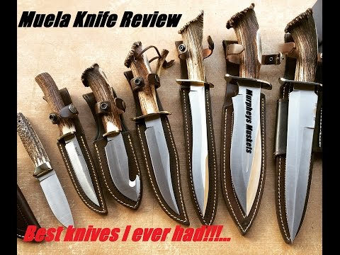 Muela Red Stag Knife Review