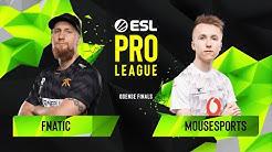 CS:GO - Fnatic vs. mousesports [Mirage] Map 3 - Grand Final - ESL Pro League Season 10 Finals