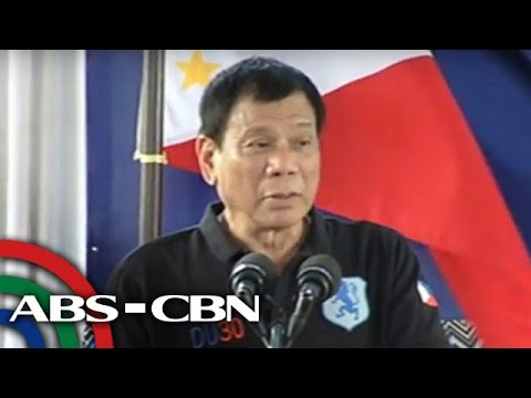 Duterte: PH can't match China's power in Scarborough
