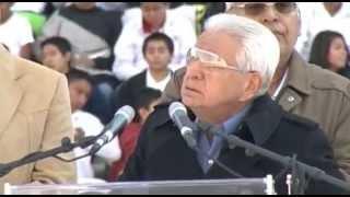 Antorcha Campesina: Discurso Aquiles Córdova en festejo del 40 aniversario en Puebla