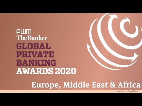 Winning in EMEA - Global Private Banking Awards 2020