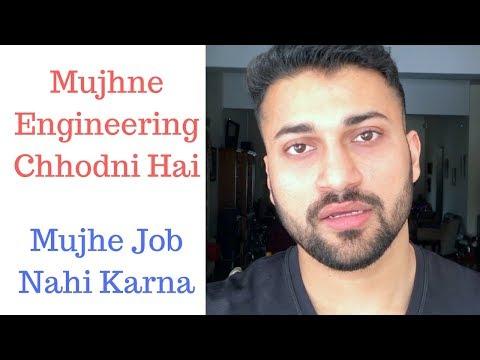 Job Life Vs Business Life   Kya Main Engineering Chhod Du? (hindi Motivation Video )