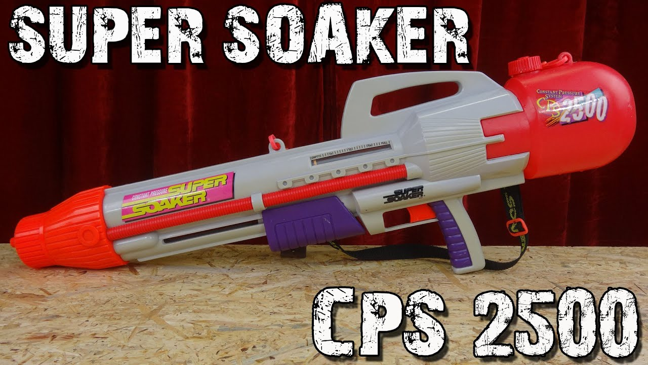 Super Soaker Cps 2500 Vorstellung Youtube