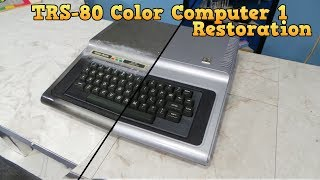 TRS-80 Color Computer 1 Restoration thumbnail