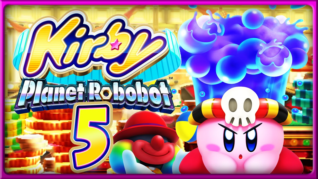 Domtendo Kirby planet robot - Magazine cover
