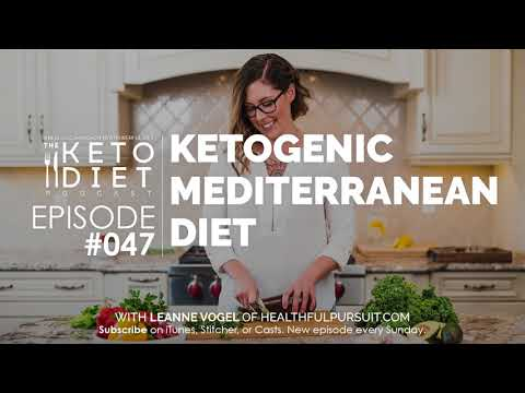 #047 The Keto Diet Podcast: Ketogenic Mediterranean Diet