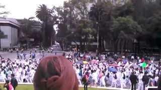 MEGA MARCHA DEL INSTITUTO POLITECNICO NACIONAL (IPN) 30/09/2014 ANGEL DE LA INDEPENDENCIA