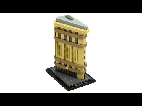 Lego Architecture 21023 Flatiron Building Speed Build And Review