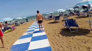 Лето 2017 - Линьяно Италия пляж