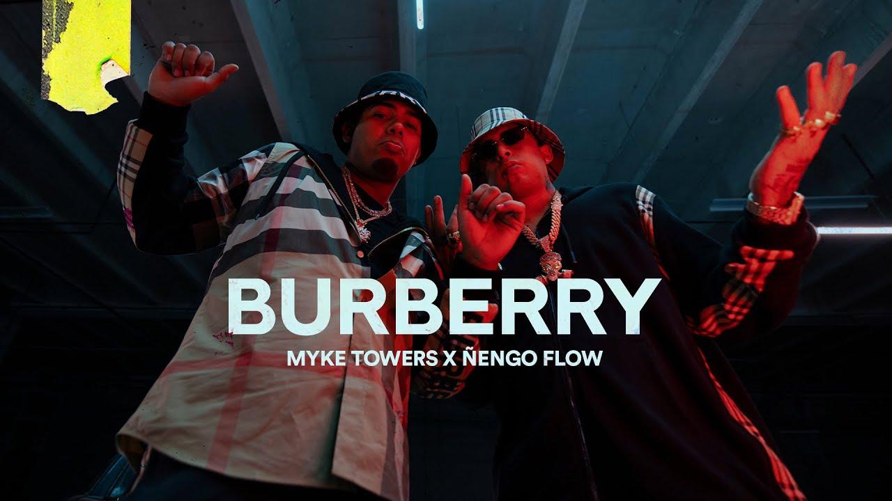 Myke Towers Ft. Ñengo Flow - BURBERRY (Video Oficial)