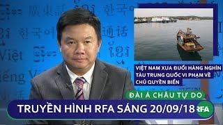 Việt Nam xua đuổi hằng nghìn tàu Trung Quốc vi phạm chủ quyền biển