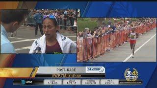 Desi Linden Finishes Fourth In Boston Marathon Women's Division Race