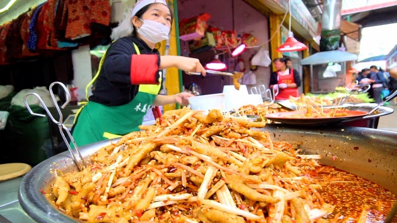 BUMBLEBEE RICE - Street Food In China