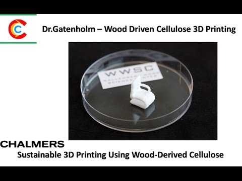 Sustainable 3D Printing Using Wood Derived Cellulose