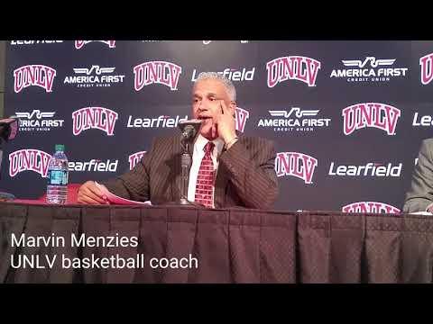 Marvin Menzies recaps UNLV's victory