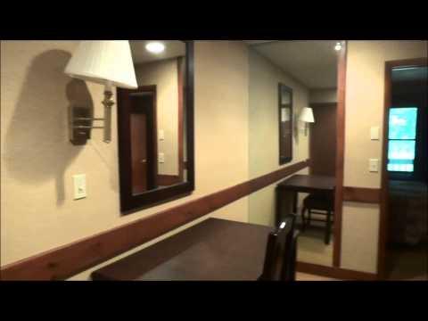 Hotel Room Tour: Split Rock Resort & Golf Club Lake Harmony, PA