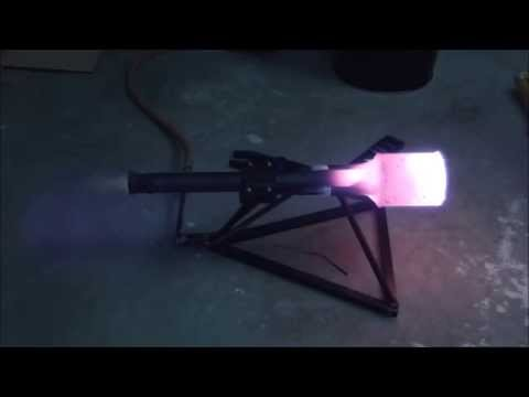 Homemade valveless Pulse Jet (Thermojet)