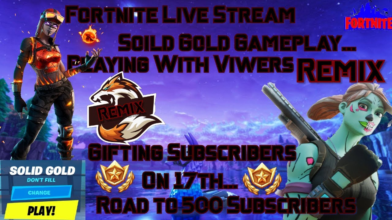 Fortntie Live Stream | More Duos Fill | Creative | Road to 500 Subscribers |