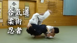 合気道と柔術&忍者 Aikido&Jiu-Jitsu&Ninja techniques
