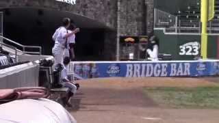 Brian Nugent (Suffern High School) Over the Wall - Great Catch!