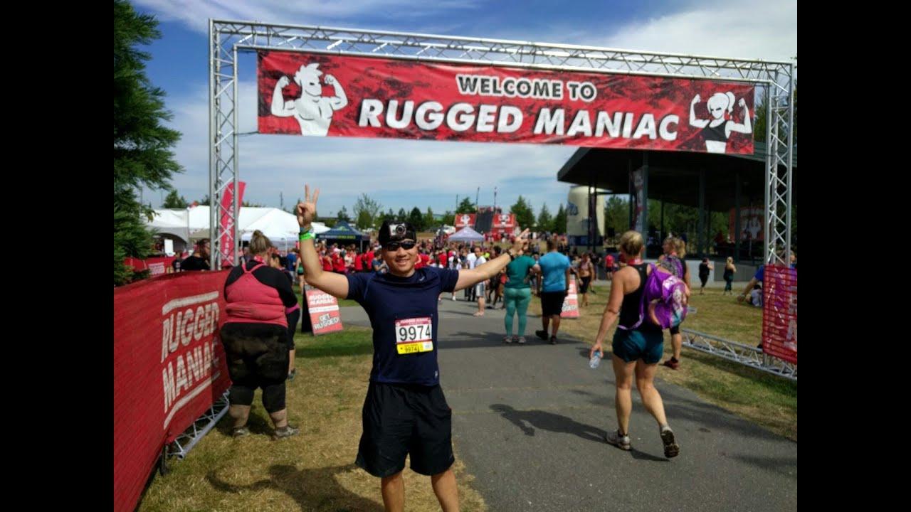 Rugged Maniac 2016 Vancouver   Full 1 Hour Run Uncut