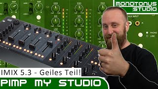 Pimp My Studio: DAP AUDIO IMIX 5.3 - 5 Chn 3 Zn Rack-Mixer Unboxing und Vorstellung (CH-Deutsch)