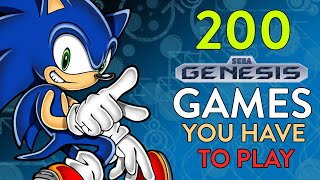 200 SEGA GENESIS / MEGA DRIVE GAMES YOU HAVE TO PLAY (Random Order) VGL