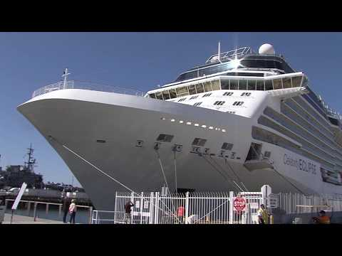 Last Scheduled Cruise Ship Disembarks In San Diego