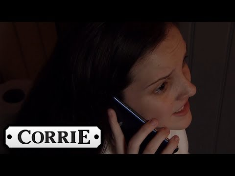 Coronation Street - Amy Contacts Her Child's Father