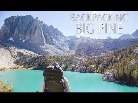 Hiking The North Fork Of Big Pine To The Glacial Lakes And Palisade Glacier