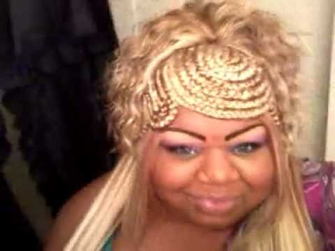 Blond Braided Quickweave Plus Size Ootn Clubbin Youtube