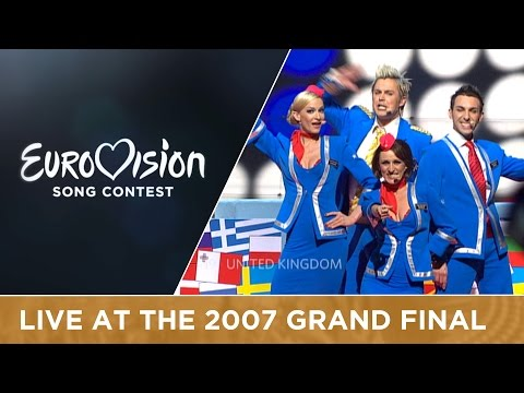 Scooch - Flying The Flag (United Kingdom) Live 2007 Eurovision Song Contest