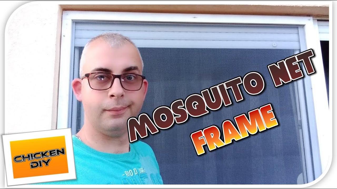 DIY Mosquito Net Frame