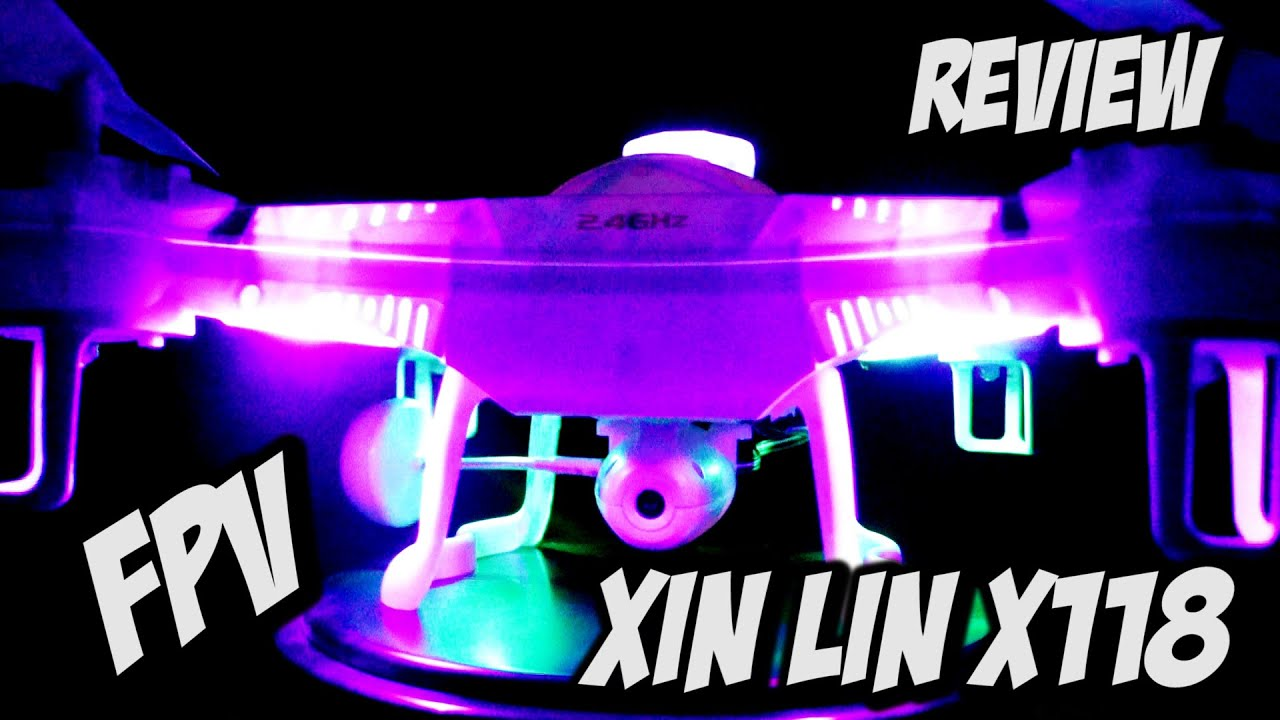 Xin lin x118 5 8g fpv unboxing y review espa 209 ol youtube