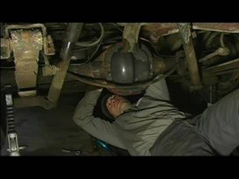 how to change rear differential