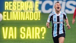 Reserva e eliminado, Rafinha vive drama no Grêmio.