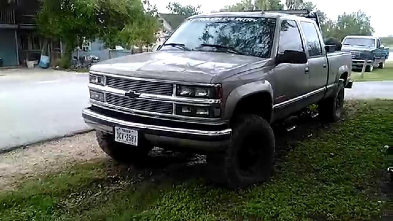 2000 Chevrolet k2500 4x4 crewcab - YouTube