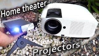 Cheap Mini Home Theater projec…