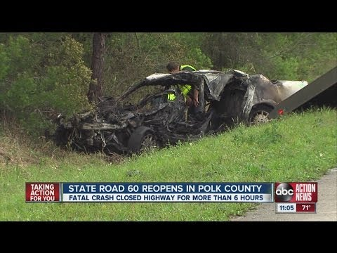 Fatal crash in Polk County closes SR 60