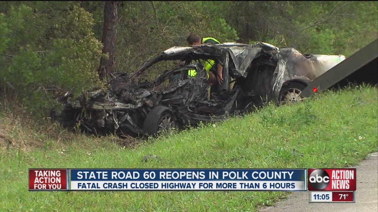 Fatal crash in Polk County closes SR 60