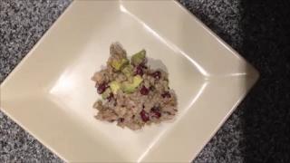 Рецепт Очень Вкусный и Полезный  Рыбный салат с перловкой с маслом