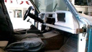 66 Jeep Gladiator body work started