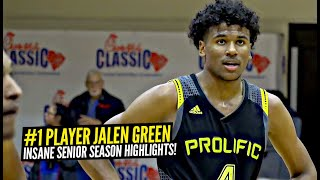 Is Jalen Green The BEST Player In High School!? INSANE Senior Season FULL Highlights!!