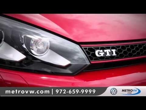 2012 Volkswagen Golf / GTI Walk-around | Metro VW - Dallas Volkswagen dealer