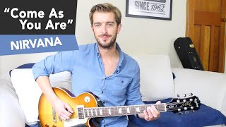 Come As You Are - Nirvana Guitar Lesson - Beginners Easy Riff #12