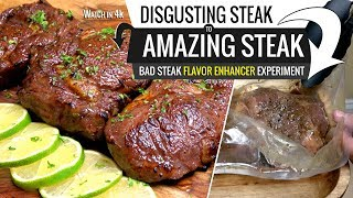 DISGUSTING STEAK to AMAZING STEAK Sous Vide Experiment